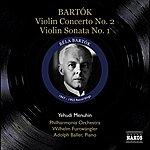 Yehudi Menuhin Bartok, B.: Violin Concerto No. 2 / Violin Sonata No. 1 (Menuhin) (1947, 1953)