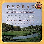 Isaac Stern Dvorák: Piano Quartet No. 2 In E-flat Major, Op. 87; Sonatina In G, Op. 100; Romatic Pieces, Op. 75 - Expanded Edition