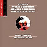 """Isaac Stern Brahms: Violin Concerto And """"Double"""" Concerto"""
