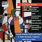 James Tocco Stravinsky: Octet; Symphonies Of Wind Instruments; Tango For Piano; Piano-rag-music; Septet