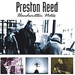 Preston Reed Handwritten Notes