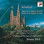 Bruno Weil Schubert: Mass In F Major, D 105; Mass In G Major, D 167
