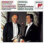 Yo-Yo Ma Prokofiev: Sinfonia Concertante; Tchaikovsky: Rococco Variations; Andante Cantabile