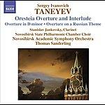 Thomas Sanderling Taneyev, S.I.: Oresteya: Overture And Entr'acte/Overture In D Minor/Overture On A Russian Theme (Novosibirsk Academic Symphony, T. Sanderling)
