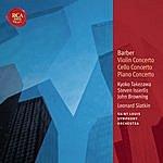 Leonard Slatkin Barber: Violin Concerto; Cello Concerto & Piano Concerto: Classic Library Series