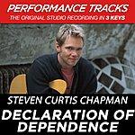 Steven Curtis Chapman Declaration Of Dependence (Premiere Performance Plus Track)