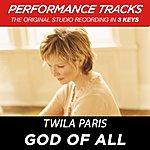 Twila Paris God Of All (Premiere Performance Plus Track)