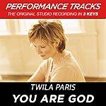 Twila Paris You Are God (Premiere Performance Plus Track)