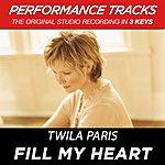 Twila Paris Fill My Heart (Premiere Performance Plus Track)