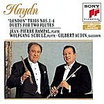 """Jean-Pierre Rampal Haydn: """"london"""" Trios Nos. 1-4, Hob. Iv: 1-4; Duets For Two Flutes"""