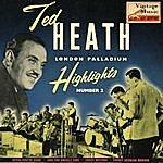 """Ted Heath Vintage Jazz Nº18 - Eps Collectors """"ted Heath London Palladium Highlights"""" November 1955"""