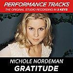 Nichole Nordeman Gratitude (Premiere Performance Plus Track)