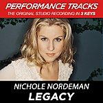 Nichole Nordeman Legacy (Premiere Performance Plus Track)