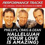 Phillips, Craig & Dean Hallelujah (Your Love Is Amazing) (Premiere Performance Plus Track)