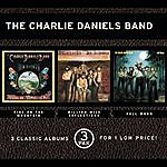 The Charlie Daniels Band Fire On The Mountain/Million Mile Reflections/Full Moon (3 Pak)