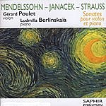 Gérard Poulet Sonates Pour Violon Et Piano (International Version)