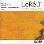 Alain Meunier Sonate Pour Violoncelle Et Piano
