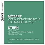 Isaac Stern Mozart: Violin Concerto No 3 In G Major, K.216