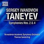 Thomas Sanderling Taneyev, S.I.: Symphonies Nos. 2 And 4 (Novosibirsk Academic Symphony, T. Sanderling)