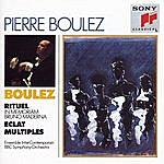 Pierre Boulez Pierre Boulez Conducts His Own Works