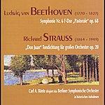 """Berliner Sinfonie Orchester Ludwig Van Beethoven: """"pastorale"""", Symphonie Nr. 6, Op. 68 - Richard Strauss: """"don Juan"""", Op. 20"""