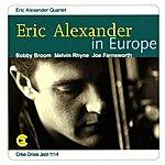 Eric Alexander Eric Alexander In Europe