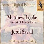 Jordi Savall Matthew Locke: The Consort Of Fower Parts (Suites I To Vi)
