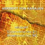 Berlin Philharmonic Orchestra Mozart Concerto No 21 & Symphony No 35