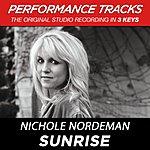 Nichole Nordeman Sunrise (Premiere Performance Plus Track)