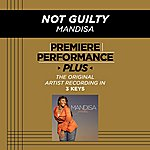 Mandisa Not Guilty (Premiere Performance Plus Track)