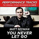 Matt Redman You Never Let Go (Premiere Performance Plus Track)
