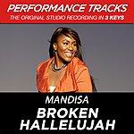 Mandisa Broken Hallelujah (Premiere Performance Plus Track)