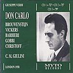 Carlo Maria Giulini Giuseppe Verdi: Don Carlo