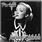 Marlene Dietrich Portrait