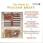 Zubin Mehta Kraft, W.: Concerto For 4 Percussion Soloists / Contextures I / Games: Collage No. 1 / Double Trio (Mehta)