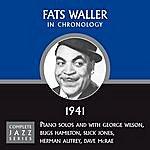 Fats Waller Complete Jazz Series 1941