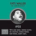 Fats Waller Complete Jazz Series 1935