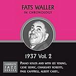 Fats Waller Complete Jazz Series 1937 Vol. 2