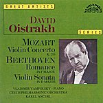 Czech Philharmonic Orchestra Mozart: Concerto No. 3 In G Major, K. 216, Beethoven: Romance No. 2 In F Major, Op. 50