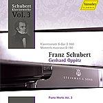 Gerhard Oppitz Schubert: Piano Works Vol. 3