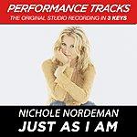 Nichole Nordeman Just As I Am (Premiere Performance Plus Track)