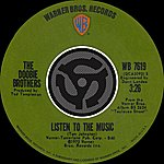 The Doobie Brothers Listen To The Music/Toulouse Street
