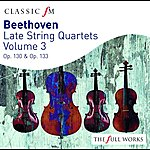 The Lindsays Beethoven Late String Quartets Vol 3