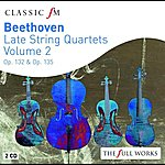 The Lindsays Beethoven Late String Quartets Vol 2