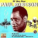 "Paul Robeson Vintage Vocal Jazz / Swing Nº 40 - Eps Collectors ""Ol' Man River"""