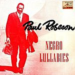 """Paul Robeson Vintage Vocal Jazz / Swing Nº 41 - Eps Collectors """"negro Lullabies"""" Paul Robeson Bass - Baritone"""
