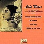 """Lola Flores Vintage Flamenco Rumba Nº 11 - Eps Collectors """"Grítenme Piedras Del Campo"""" (Gipsy)"""