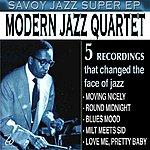 The Modern Jazz Quartet Savoy Jazz Super -EP