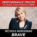 Nichole Nordeman Brave (Premiere Performance Plus Track)