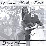 Luigi Italia In Black And White